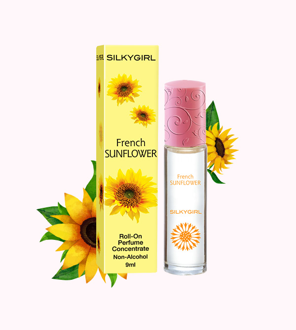 French Sunflower Roll-On Perfume Concentrate