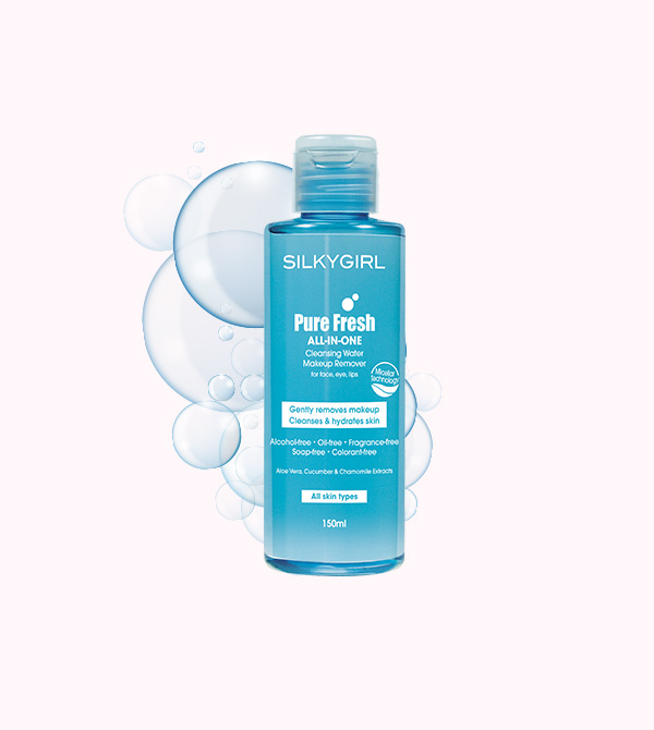 Pure-Fresh All-in-One Cleansing Water Makeup Remover