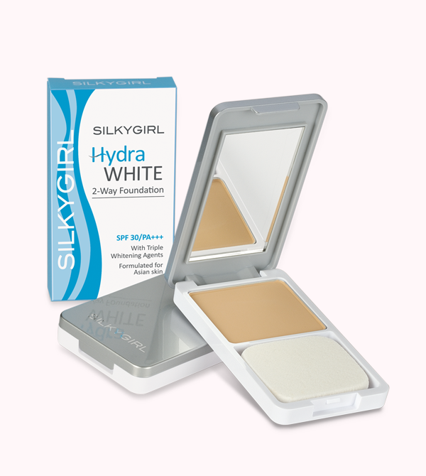 Hydra White 2-Way Foundation